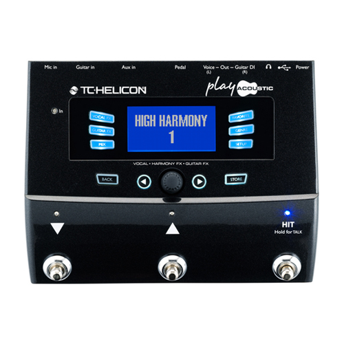 [TC Helicon] VoiceLive Play Acoustic 이펙터