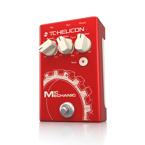 [TC Helicon] Mic Mechanic 2 이펙터