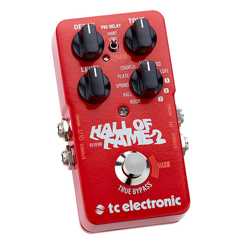 [TC Electronic] Hall of Fame 2 Reverb 기타 이펙터
