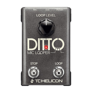 [TC Helicon] Ditto Mic Looper 루퍼 페달