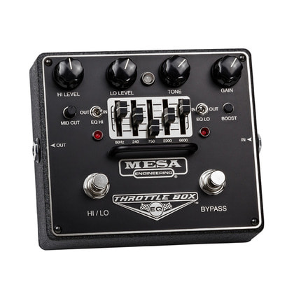 [MESA BOOGIE] Throttle box EQ 이펙터
