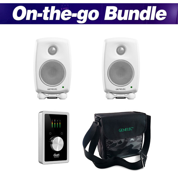 [GENELEC X APOGEE] On-the-go Bundle (White)