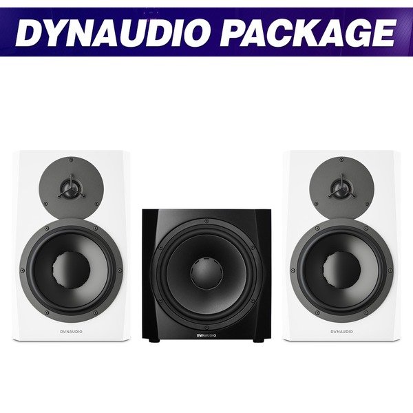 [DYNAUDIO] LYD8 (White) + 9S (Black) / 패키지