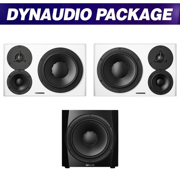 [DYNAUDIO] LYD48 (White) + 9S (Black) / 패키지