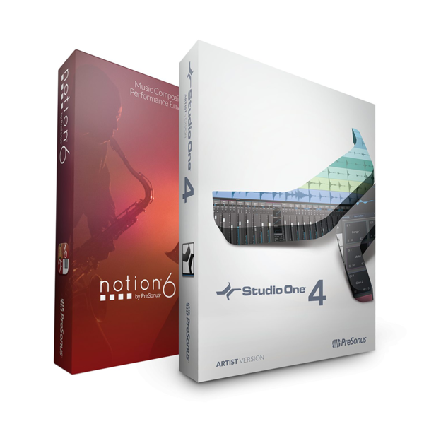 [PRESONUS] Studio One 4 Artist + Notion 6 (ARTIST BUNDLE)