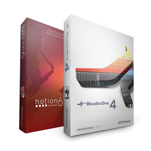 [PRESONUS] Studio One 4 Professional + Notion 6 (PRO BUNDLE)