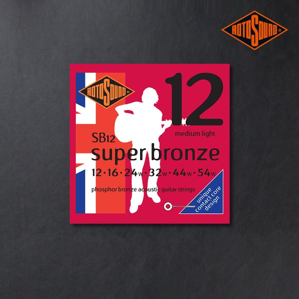 [ROTOSOUND] Super Bronze Series 어쿠스틱 기타 스트링