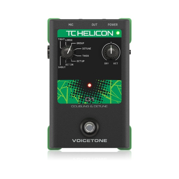 [TC Helicon] Voicetone D1 이펙터 페달