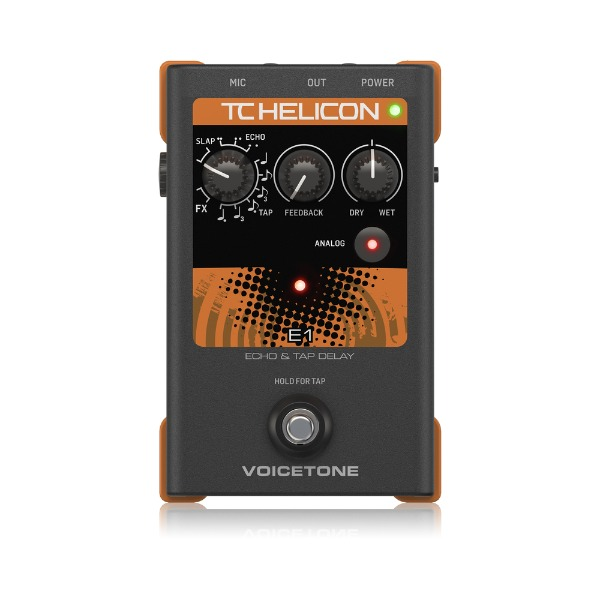 [TC Helicon] Voicetone E1 이펙터 페달