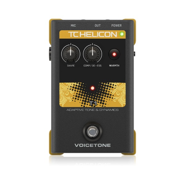 [TC Helicon] Voicetone T1 이펙터 페달