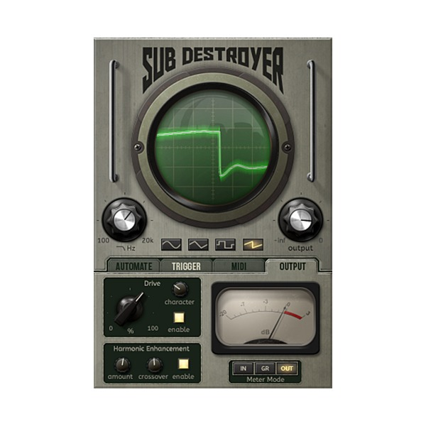 [JST] Sub Destroyer FX 플러그인(VST)